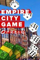 Lunch – Empire City Tablet Game – Borrel in Tilburg